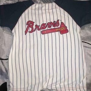 Major League One Pieces - Atlanta Braves 3-6 months romper